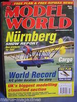 RCMW RC MODEL WORLD MARCH 2002 ELIASE AIRCOUPE PLAN CARGO JAKE & ELEANOR PRIOR
