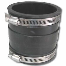Deks STORM WATER PVC COUPLING Connector World Class Polymer Stainless Steel-90mm