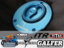 Race-Craft Fuel Cap Blue Suzuki GSXR-1000 2003 - 2015 GSXR-600 GSXR-750