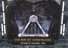 Star Wars 40th Anniversary Base Card #94 Star Wars Art: Visions Released