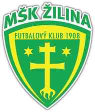 "MŠK Žilina MSK Zilina FC Slovakia Football Soccer Car Bumper Sticker Decal 4""X5"""