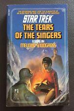 Star Trek the Original: The Tears of the Singers 19 by Melinda Snodgrass (2000,…