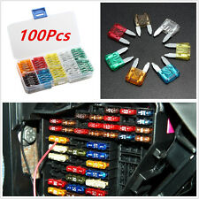 100X  Assorted Car Small Low Profile Fuse Box 5 7.5 10 15 20 25 30 A DIY Sales