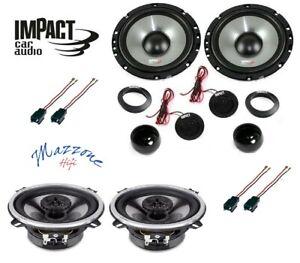 IMPACT EF 65S/40X Kit 6 casse PEUGEOT 207 CC CONNETTOR ALTOPARLANTI ANT/POS AUTO
