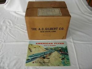 American Flyer Case of 50 D1866 1956 Train Catalog in Dealer Shipping Box