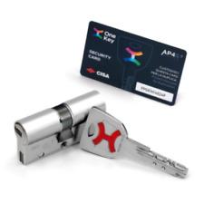 Cilindro europeo frizionato di massima sicurezza - CISA AP4 S [include 5 chiavi]