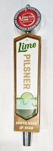 """Uinta Brewing Lime Pilsner Beer Tap Handle - 11"""""""