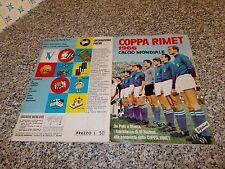 ALBUM CALCIATORI COPPA RIMET 1966 LAMPO/VERBANIA ORIGINALE COMPLETO OTTIMO