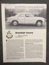 Rover 3-litre MkIII automatic Original Motor magazine Road test 1966