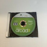 Xbox Live Arcade Compilation Disc (Microsoft Xbox 360, 2007) disc only