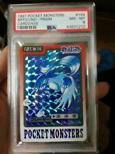 1997 pokemon carddass articuno prism PSA8