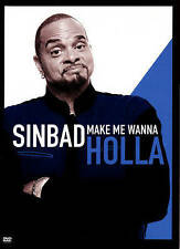 Sinbad: Make Me Wanna Holla (DVD,2014) NEVER PLAYED / MINT / FREE SHIPPING