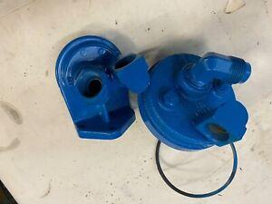 Crusader Remote Oil Filter Holder 233560 , 97667 fit early model V8 GM engines.