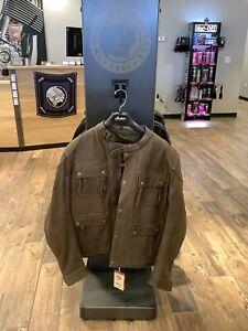 Indian Motorcycle Benjamin Leather Jacket (2XL)