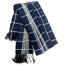 HM New Kilt Fly Plaid Douglas Tartan 3 1/2 Yard/Piper Fly Plaid Piper Kilt Shawl