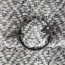 Mittelalter Fibel Gewandnadel 1Paar Fibeln aus Eisen für Wadenwickel Wadenbänder