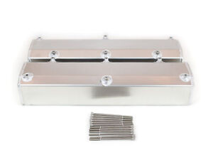 Canton 65-300 Valve Covers Small Block Ford 302 351W Fabricated Alum w Hardware
