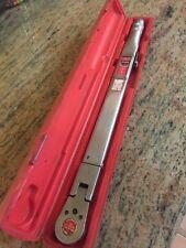 "Snap On TQFR250C - Flex Head Ratchet Torque Wrench, 50-250 ft./lb 1/2"" Drive.  G"