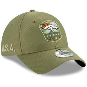 Denver Broncos New Era 2019 Salute to Service Sideline 9TWENTY Adjustable Hat