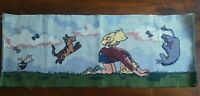 Classic Pooh Leaofrog Pooh Christopher Robin Tigger Piglet Fabric Panel Disney