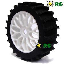 2pcs RC 1:8 Baja Buggy Wheel & Snow / Sand Master Paddles Tires Set for HPI