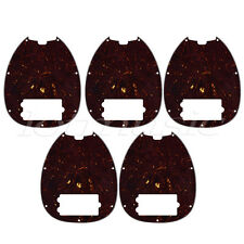Bass Pickguard for Musicman Music Man MM2 4 String Guitar Parts Dark Brown 5pcs