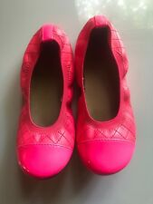 girls childrens place shoes, dress shoes, flats hot pink sz 1