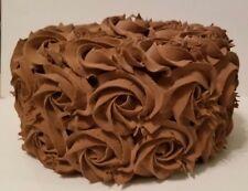 CHOCOLATE ROSETTE FAKE CAKE CHRISTMAS THANKSGIVING DAY CENTERPIECE