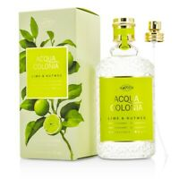 NEW 4711 Acqua Colonia Lime & Nutmeg EDC Spray 170ml Perfume