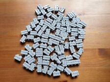New Lego 100x Medium Grey 1x2 Masonry Bricks (98283) 10243 10251 10255 10211