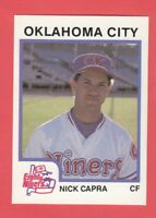 1987 Minor League ProCards # 155 Nick Capra - Oklahoma City Eighty Niners