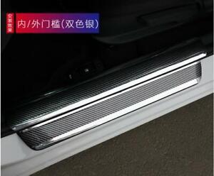 Car Accessories Fibre Door Sill Cover Scuff Plate Protector Rear Bumper 2M*0.05M