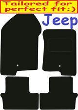 Jeep Compass a medida Alfombrillas De Coche ** ** Calidad De Lujo 2009 2008 2007