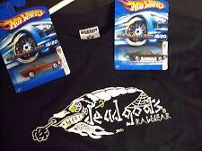 Hot Wheels Pontiac Gto deadgoats Racing tshirt combo