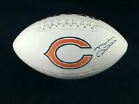Mike Ditka Chicago Bears Coach Signed Autographed White Panel Football JSA COA