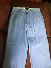 Polo Ralph Lauren Haven Blue Mens 32x30 Straight Fit Chino Golf Khakis Pants