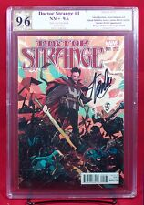 DOCTOR STRANGE #1 (Marvel) PGX 9.6 NM+ Rebelka Variant signed STAN LEE! +CGC!!!