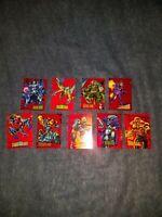 1993 Marvel Universe Series 4 - Red Foil Single Cards - Complete your set