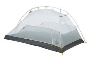 Big Agnes Tiger Wall UL2 MtnGlo with footprint
