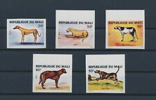 LM34270 Mali imperf pets animals dogs fine lot MNH