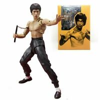 Bruce Lee  Action Figure Muscular Body Kung Fu Bandai Tamashii 75th Anniversary