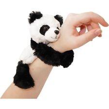 HUGGERS PLUSH PANDA SLAP BRACELET STUFFED ANIMAL TOY BY WILD REPUBLIC