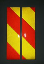 Reflective chevron to suit SHAD Top Box Pannier stickers decals