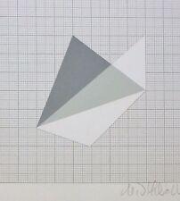 H.D. SCHRADER 1985 HAND SIGNED  LITHOGRAPH GERMAN Artist