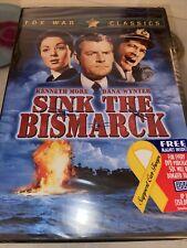 Sink the Bismarck (DVD, 2003, Fox War Classics)  FACTORY SEALED