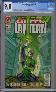 GREEN LANTERN V3 #48 CGC 9.8 1ST KYLE RAYNER EMERALD TWILIGHT