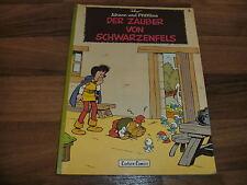 JOHANN & PFIFFIKUS  # 4 -- ZAUBER von SCHWARZENFELS // Peyo Carlsen 1. Aufl 1980