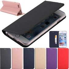 Magnetic Slim Wallet Leather Flip Case Cover For iPhone X 10 8 7 6s 6 Plus 5s SE