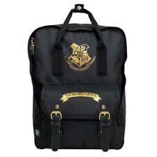 Harry Potter Hogwarts Premium Backpack, School Bag, Laptop Bag, Black