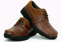 Mens Casual Shoes Lace Up School Work Office Wedding Dress Smart Style Size UK